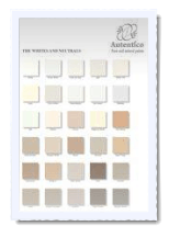 Accessories-The Whites and Neutrals colour chart