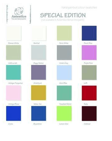 Accessories-The Special Editions colour chart