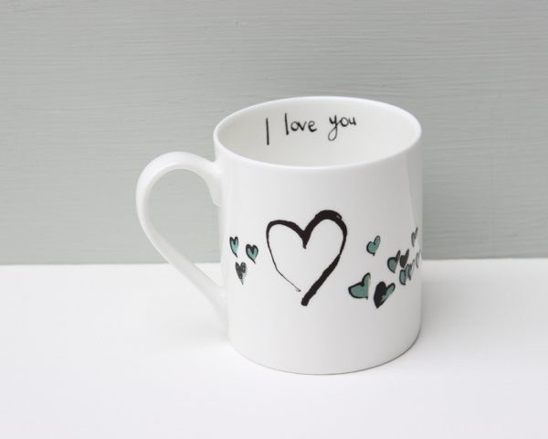 Anna Wright I Love You Duck Mug
