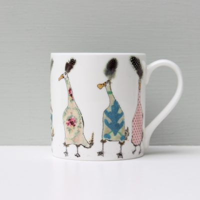 Anna Wright Ladies Who Lunch Duck Mug