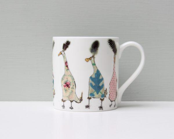 Anna Wright Ladies Who Lunch Duck Mug