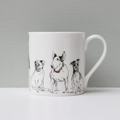 Anna Wright morning assembly dog mug