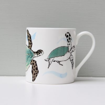 Anna Wright Splish Splosh Turtle Mug