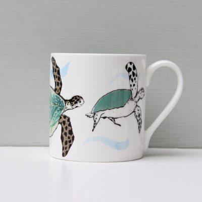 Anna Wright Splish Splosh Turtle Mug