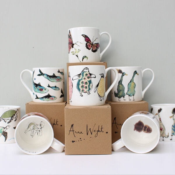 Ana Wright mugs at Sara Hughes Marlow