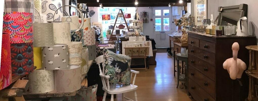 Sara Hughes shop in marlow