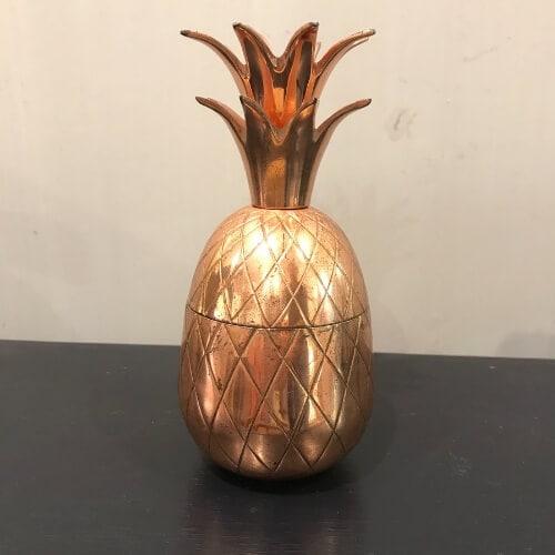 pineapple, copper, antique