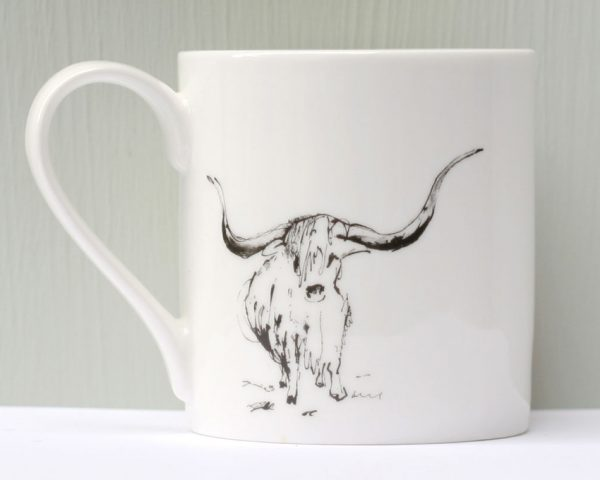 Anna Wright Moody Mornings Mug
