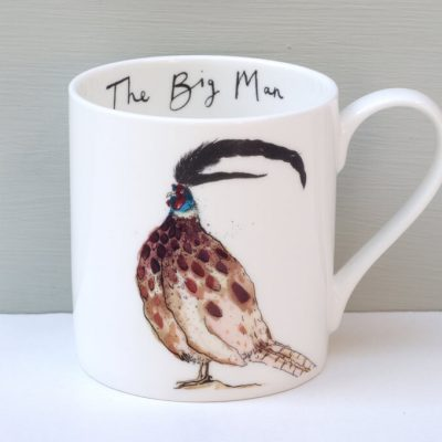 Anna Wright The Big Man Pheasant Mug