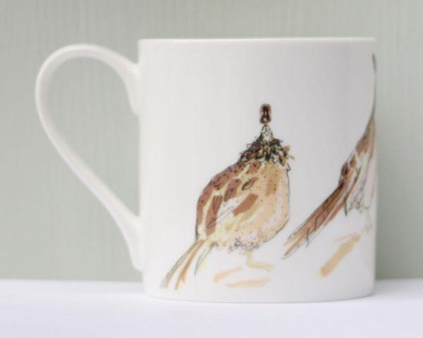Anna Wright The Big Man Pheasant Mug