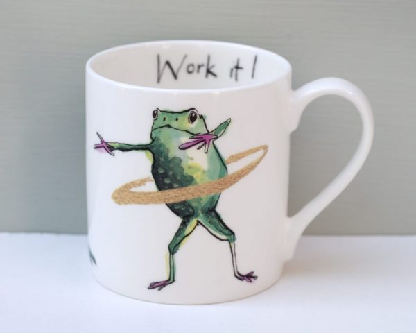 Anna Wright Work It Mug
