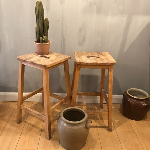 vintage, stools