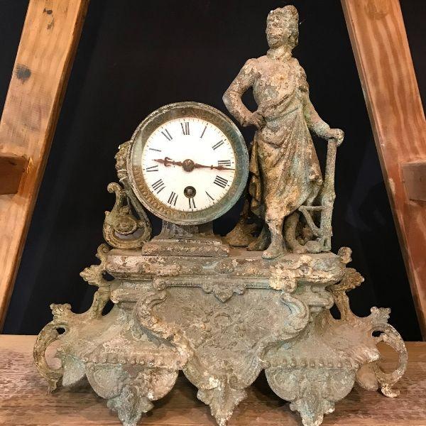 clock, patina