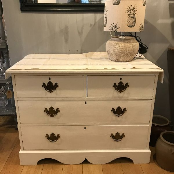 vintage, pine, painted furniture