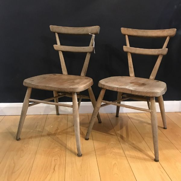 Ercol, chair, childs chair