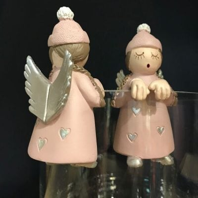 Fairy, pot hanger, chrisms