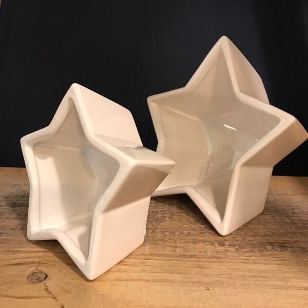 stars, ceramic bowls