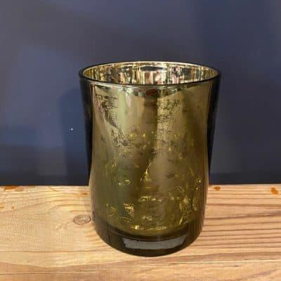 Green Tea Light, glass