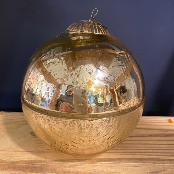 Scented Candle Bauble, Glass Bauble