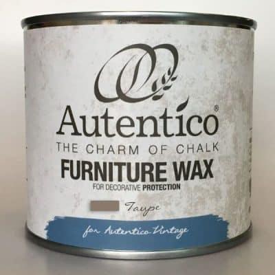 Taupe wax