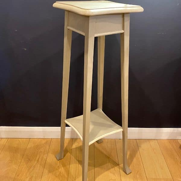 painted furniture, pot stand