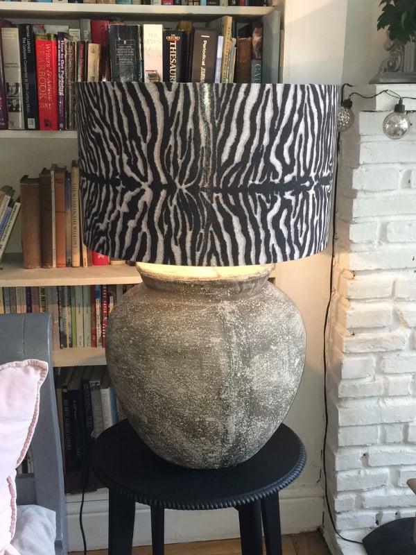 Hand made lampshades by Sara Hughes Marlow