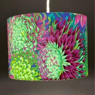 homemade lampshade