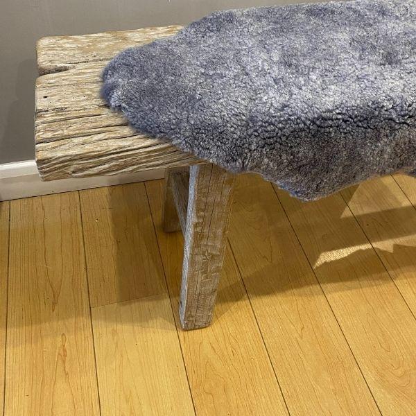 grey shorthaired sheepskin