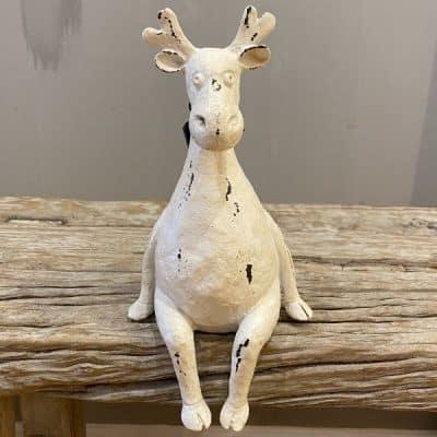 moose, white,