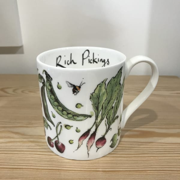 Anna Wright Rich Pickings mug
