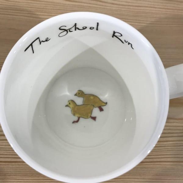 Anna Wright School Run mug