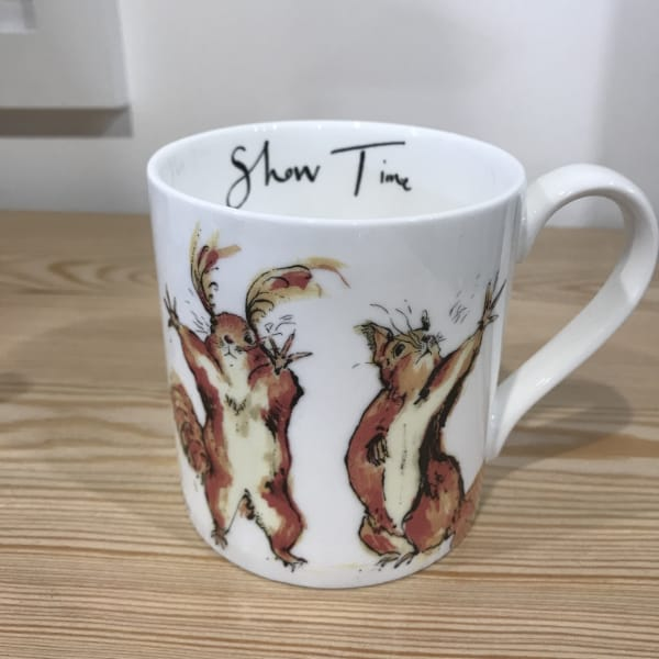 Anna Wright Show Time mug