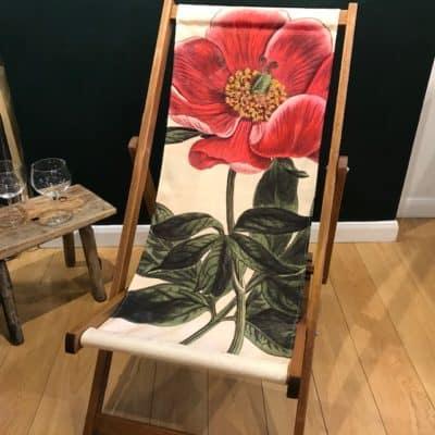 Peony deck chair