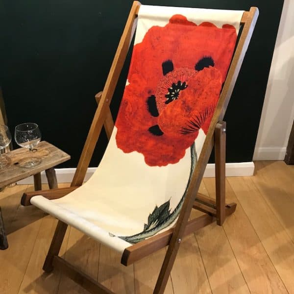 Poppy deck chair