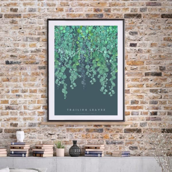 Hambridge Artists Trailing leaves art print