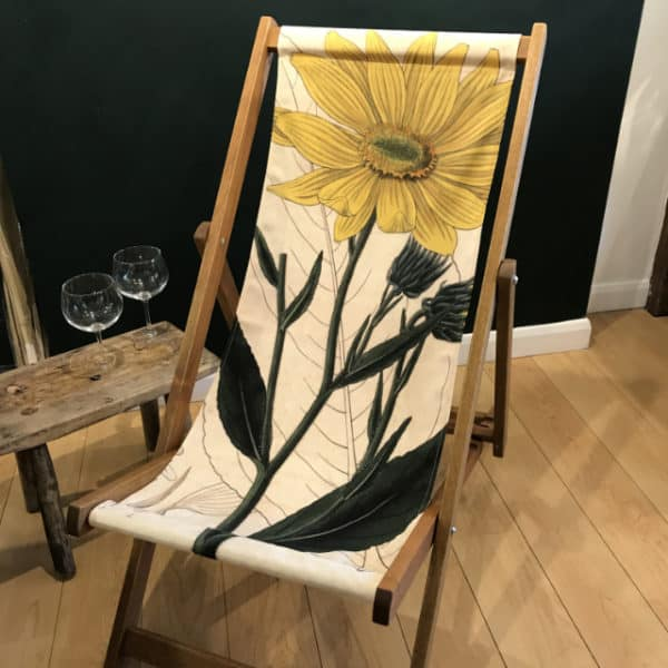 Sunflower deckchair