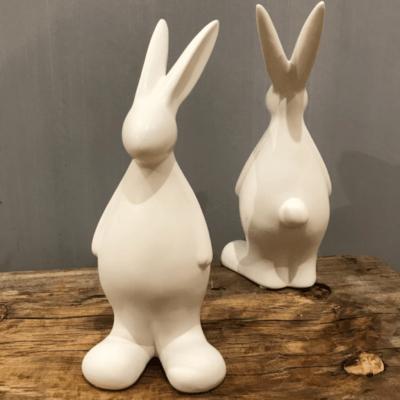 Swedish ceramic easter bunny